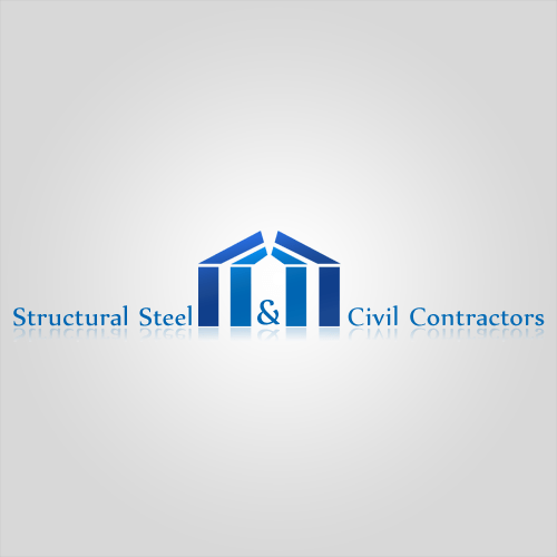 structural steel erectors logo design digital boutique