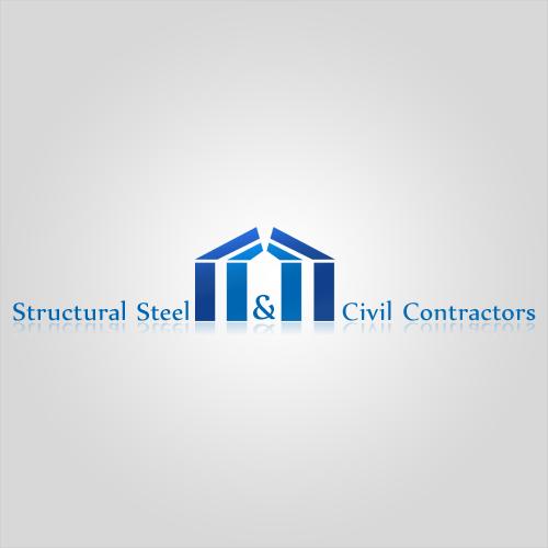 Structural steel erectors logo design digital boutique for Structural steel home designs